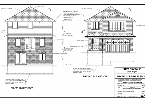 Lake-Terrace-Floor-Plan-Front-Rear-Dan-Clayton-New-Home-Builder-Guelph